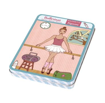 Magnetic Dress up Ballerina