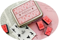 Ballerina Stamps and Inkpads