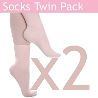 Ballet Socks - TWIN Pack