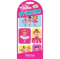 Ballerina Flicker Stickers