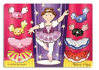 Ballerina Dress-Up Peg Puzzle
