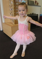 Ballet Costume - Pink and White Soft Tutu