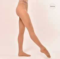 Footed tights - Skin tone